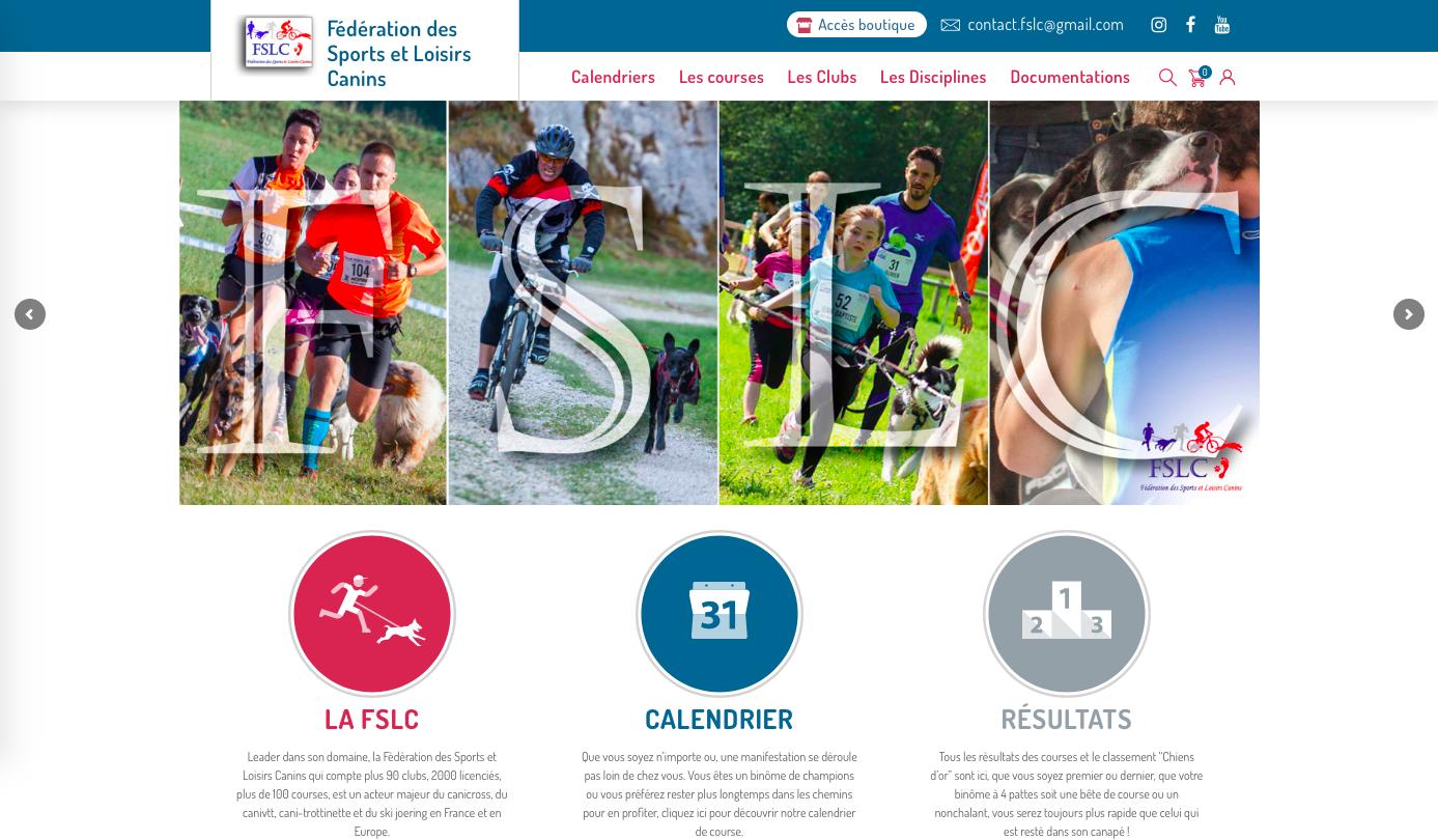 Création du site web de la Fédération des sports et loisirs canins