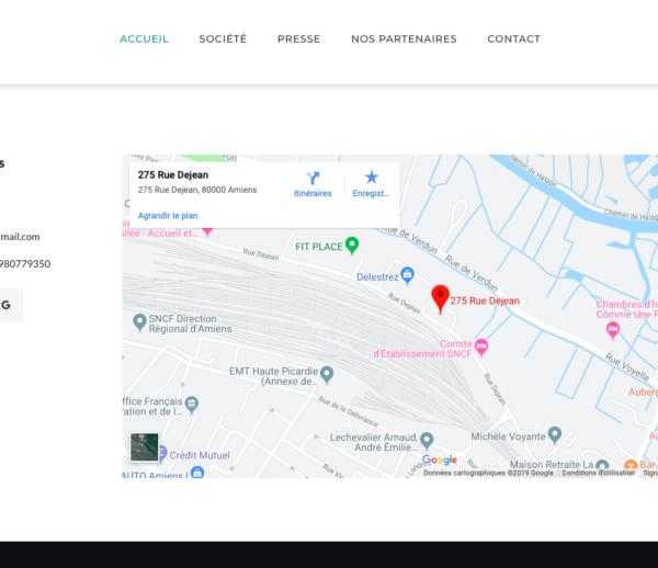Site Vitrine – Alix Services