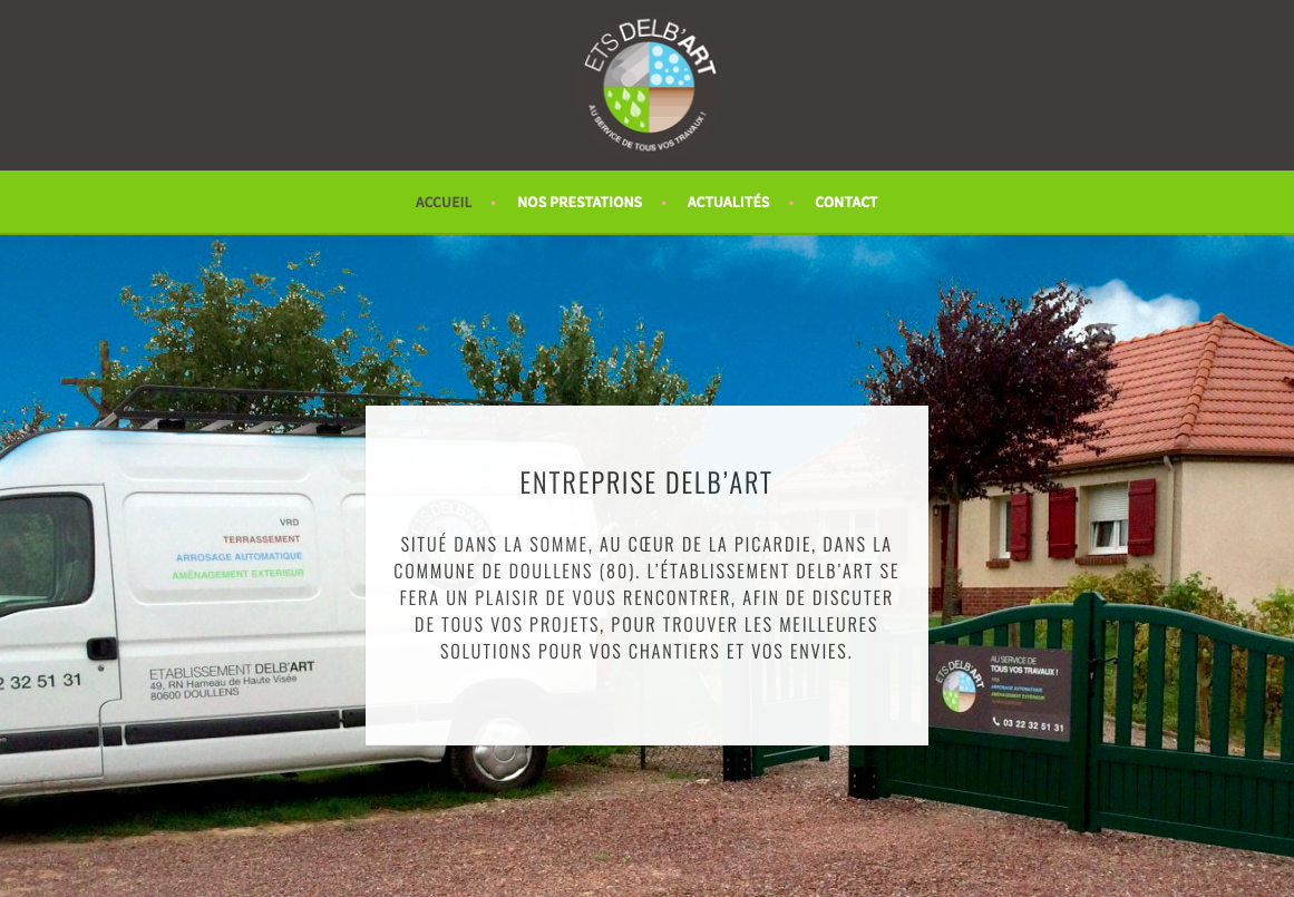 site web Delb'art