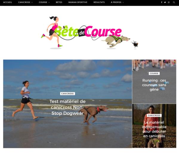 Blog WordPress – Bête de Course