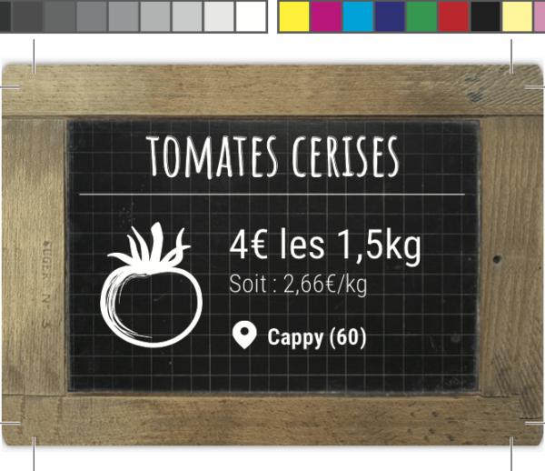 Étiquettes de prix – Des produits d'Ici