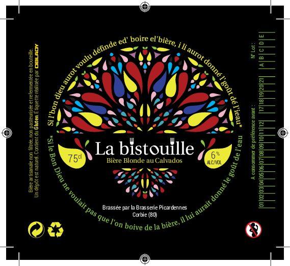 Création d'étiquettes – Bière la Bistouille