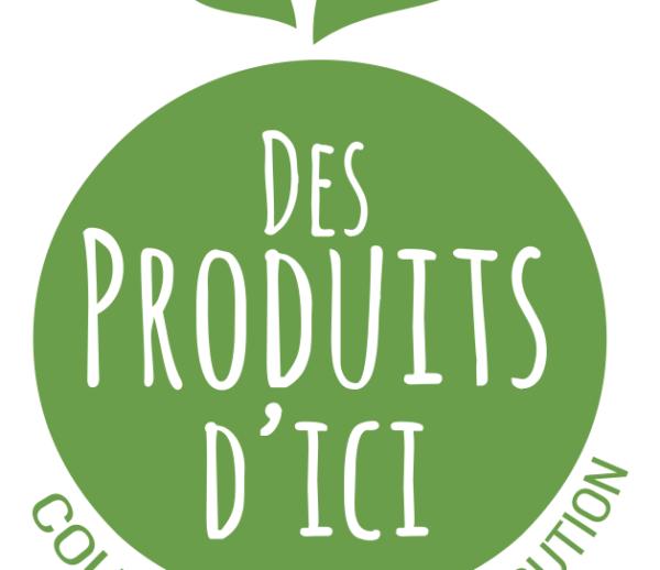 Logo et communication print – Des produits d'ici