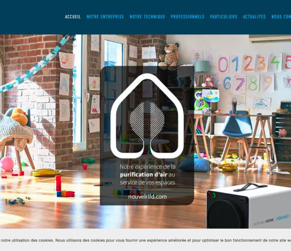 Évolutions site web Squarespace – Nouvel'R LFD
