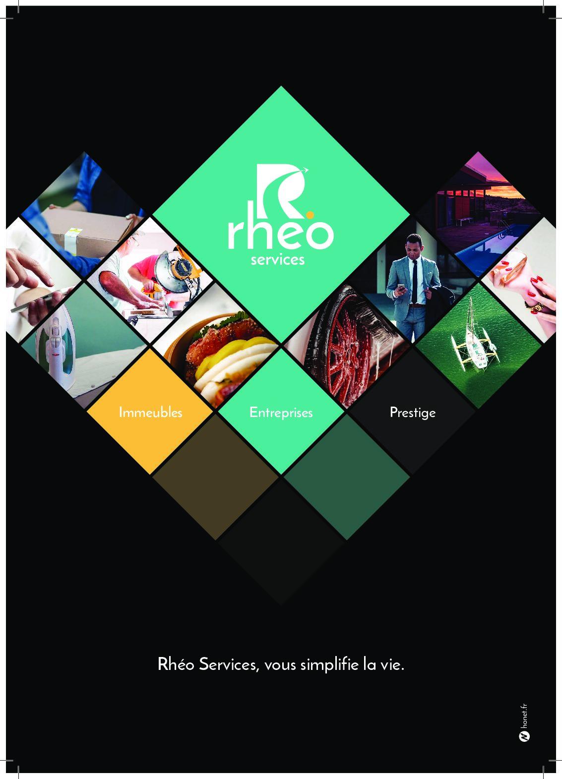 Affiche Rhéo Services