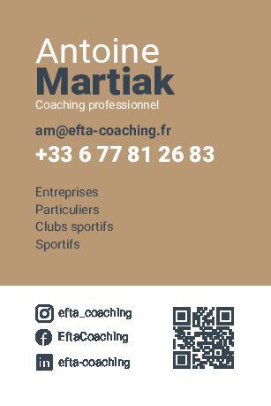 Carte de visite – Efta Coaching
