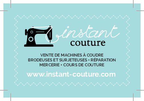 Carte de visite – Instant Couture